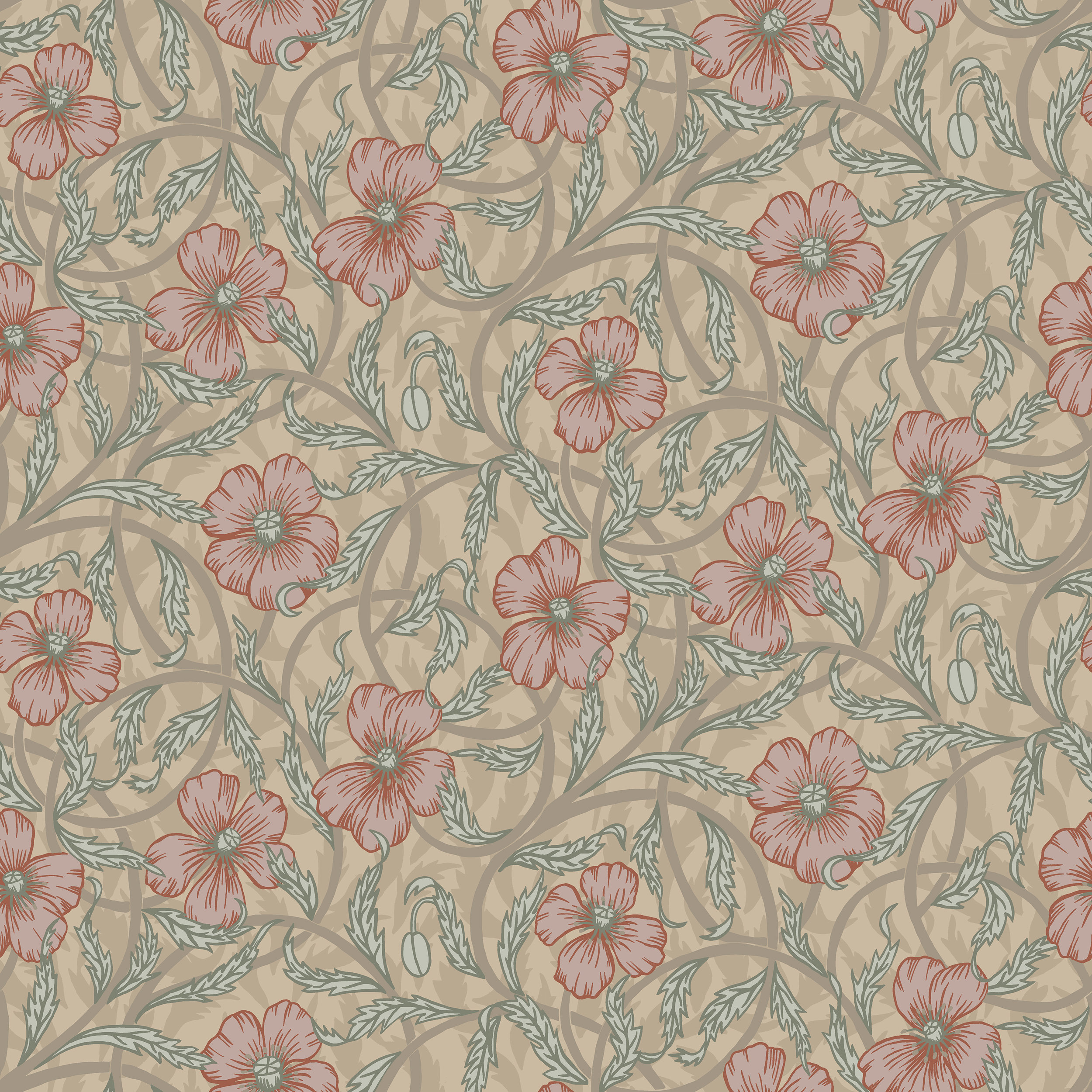 Poppy 28026 Midbec Wallpaper
