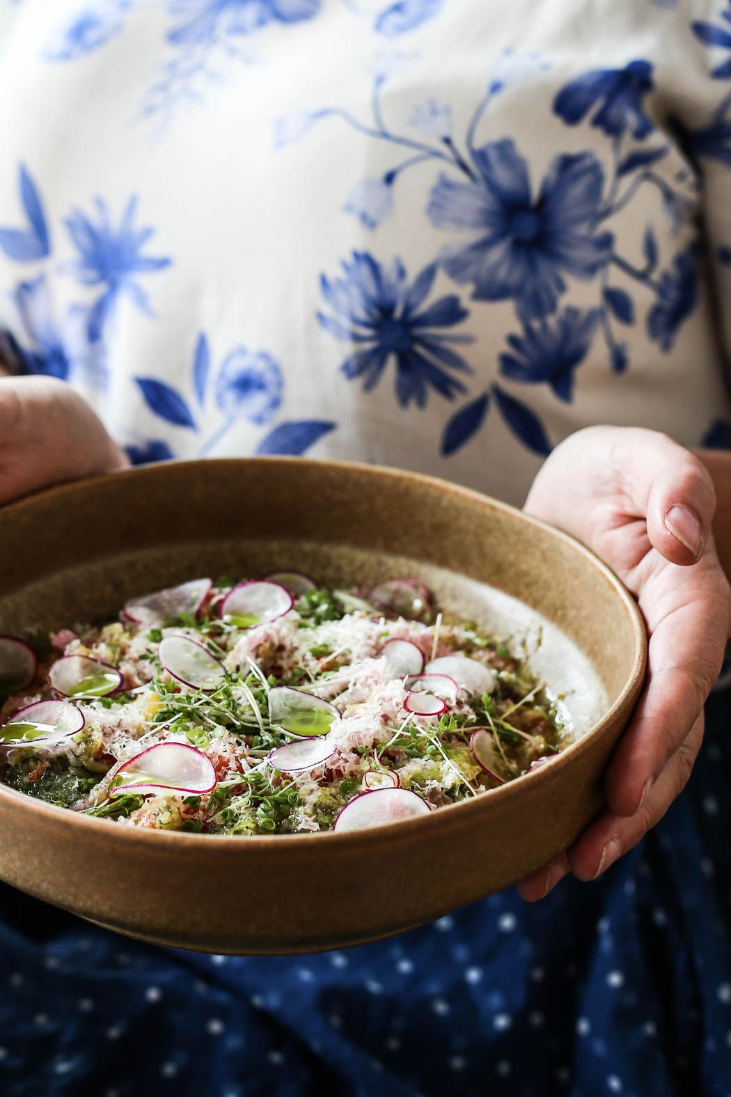 Vegetarisk risotto på bovete, så gott!