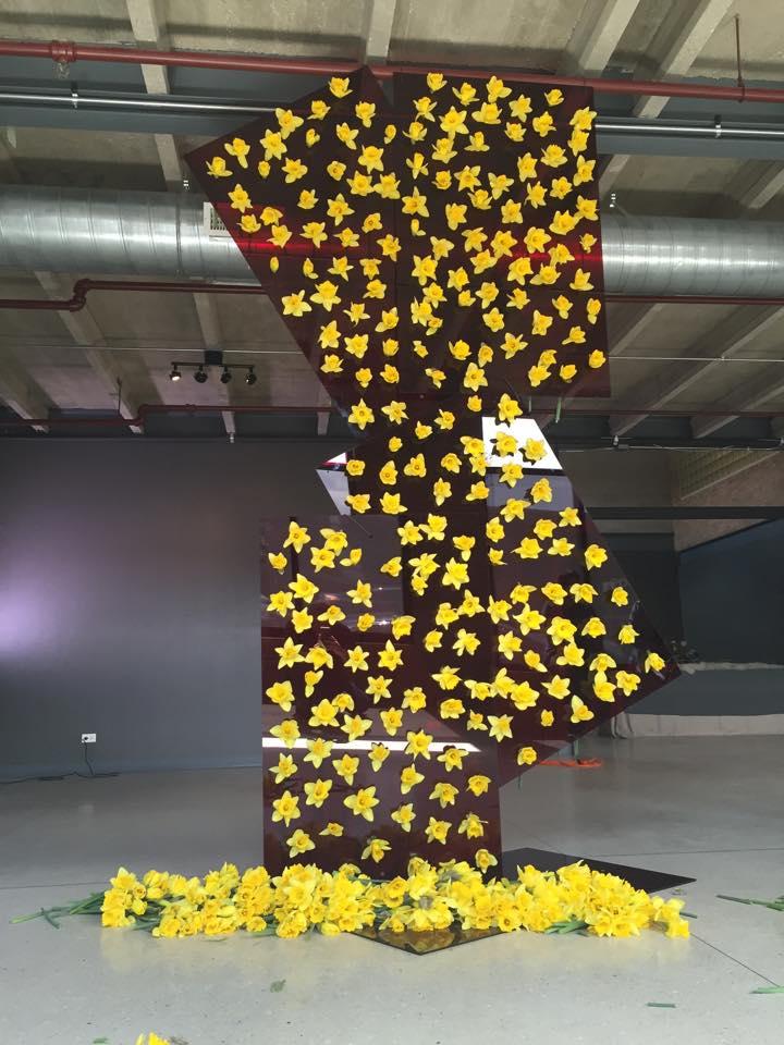 Daffodil Room Divider