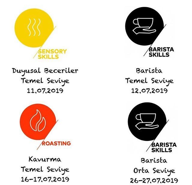 🗓 SCA Kahve Becerileri Programı Temmuz ayı eğitimleri belirlendi, kayıtlar hızla doluyor! Detaylı bilgi için: info@kimmacoffee.com . #kahveegitimi #barista #kahve #kahvekavurma #kahveeğitimi