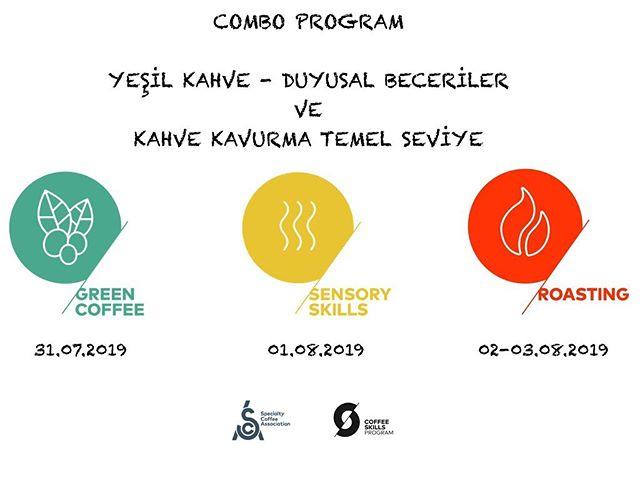 Eğitimlere son hız devam ediyoruz! Kahve Kavurmayı öğrenmek isteyenler: Bu yıl pilot proje olarak başladığımız, aslında SCA'nın da önerdiği, 4 günlük SCA Sertifikasyonlu dersler hammaddeden başlayarak tadım, koku ve temel kavurma prensipleri üzerine yoğun bir eğitim programını içeriyor. Yeşil Kahve - Duyusal Beceriler ve Kahve Kavurma Temel seviye eğitimlerine kayıtlarımız başladı. Zaman uymuyorsa isterseniz derslere ayrı ayrı da katılabilirsiniz. Öğrenciler daha yoğun bir programda çalışsınlar diye de sınırlı sayıda katılım olacak 🤩 Kahve ile ilgili aklınıza gelen, hayalini kurduğunuz başka bir program/eğitim var mı? Bize yazın! Eğitim programlarına katılım ile ilgili tüm detaylı bilgiler 👉🏻 info@kimmacoffee.com #kahvekavurma #kahveeğitimi #kahveegitimi #kahvetadımı #kahvetadimi  #coffeediplomasystem