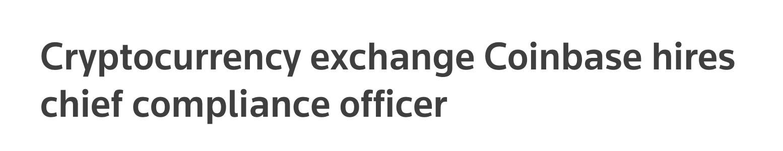 https://www.reuters.com/article/us-cryptocurrency-coinbase/cryptocurrency-exchange-coinbase-hires-chief-compliance-officer-idUSKBN1KL1BH