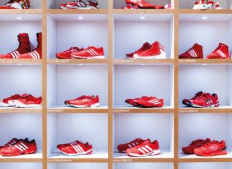 Adidas Athelete Activation Zone