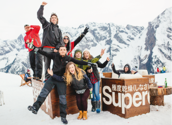 Superdry, Snowbombing Festival
