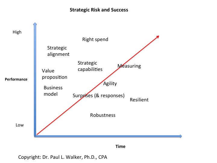 My view of how managing strategic risk and the related dimensions is one key to long-term success.