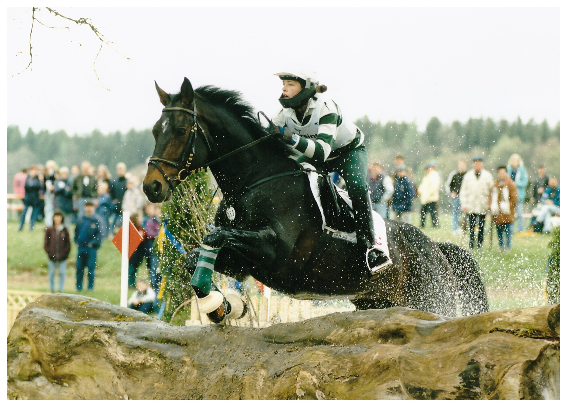Manuela mit Chronos, Marbach 1999