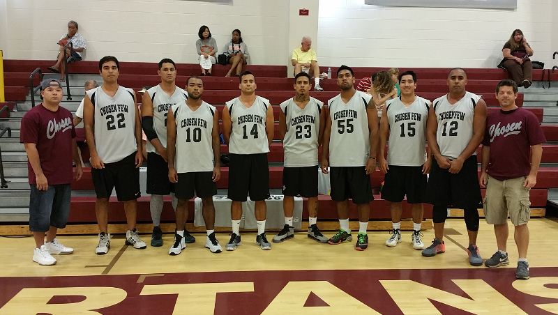 Chosen Few - One of the most dominant asian basketball teams in the States.