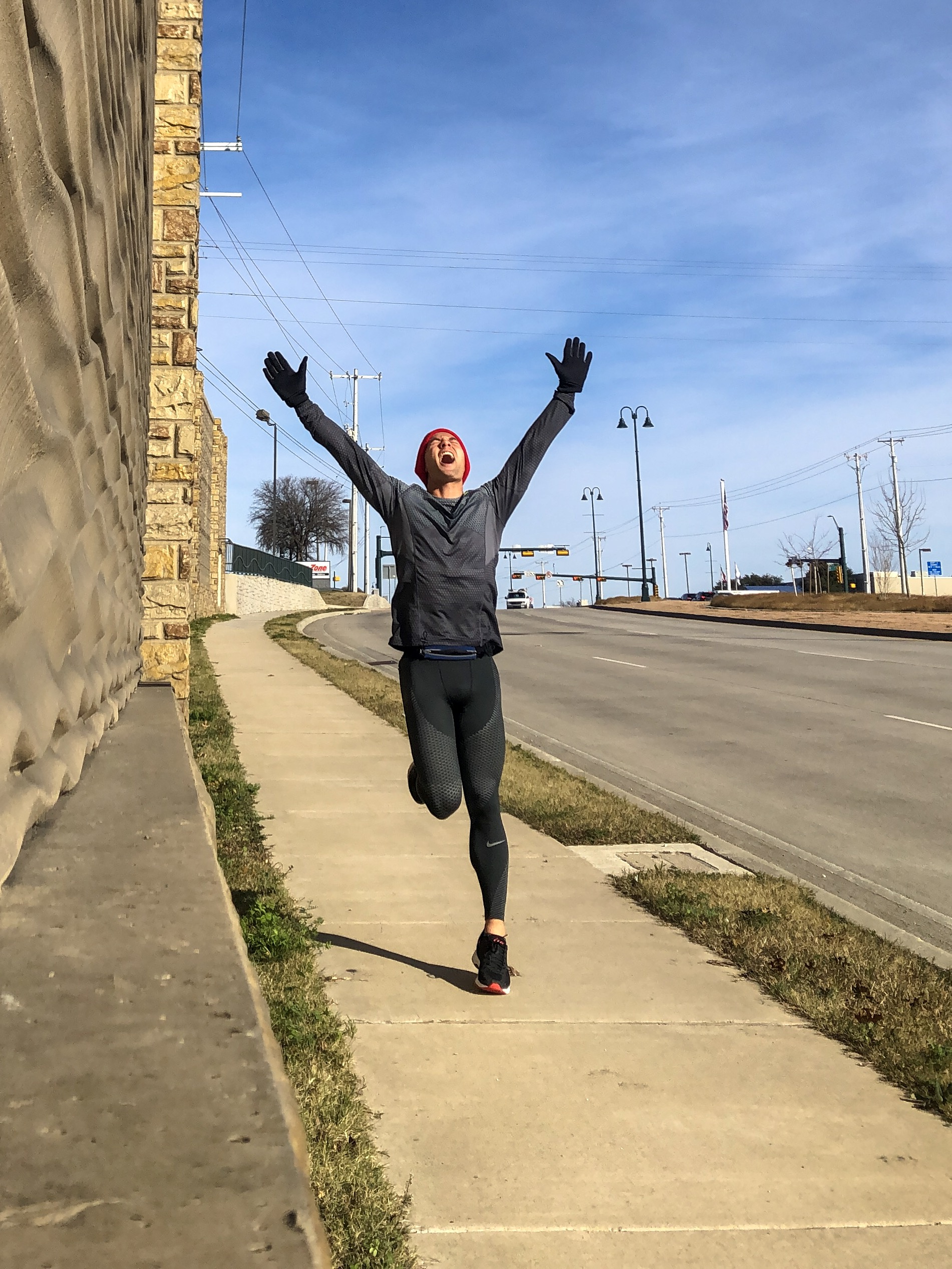 Celebrating life with a 10 mile Sunday Funday run in The Colony, TX
