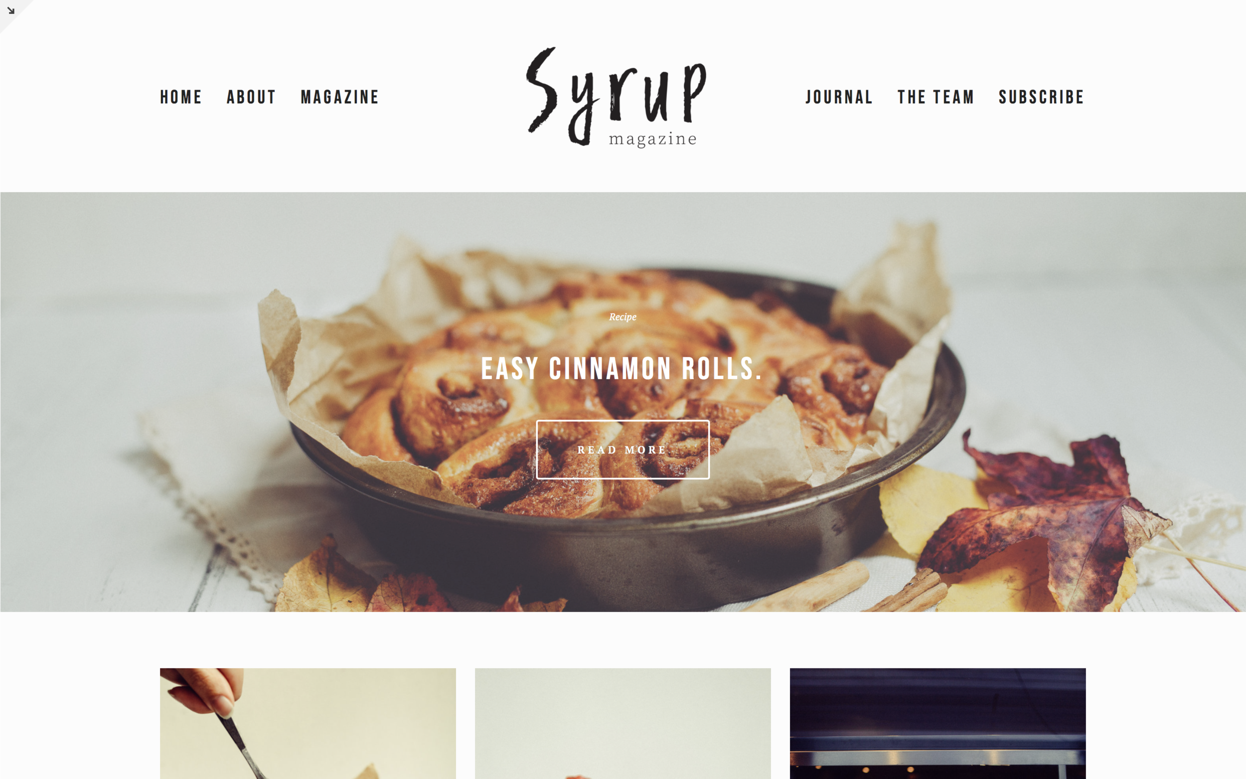 Syrupmagazine.net