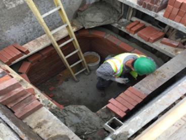 New Manhole Work Sta. 25+79RT