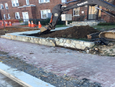 Retaining Wall Excavation House #402 To #410