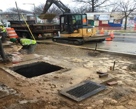 Metro Manhole Adjustments Sta.12+25LT