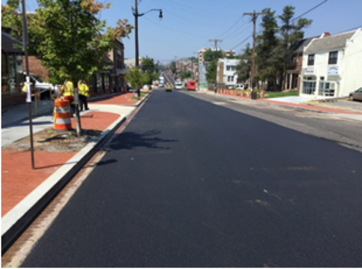 9.5MM Asphalt Surface Placement Kennedy ST Bet. 3rd ST And 4th ST
