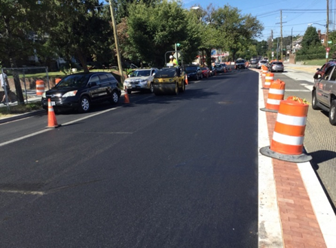 9.5MM Asphalt Placement, Missouri Ave RT From 3rd ST To 2nd ST