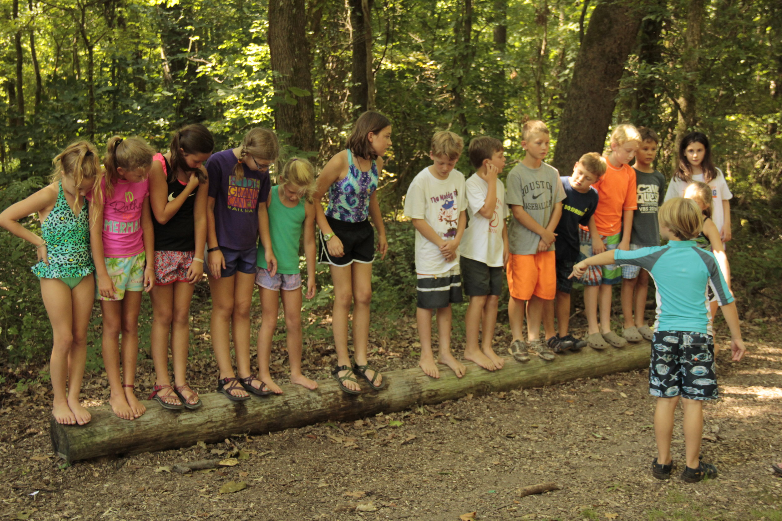 Communication and leadership on the Teepee Shuffle