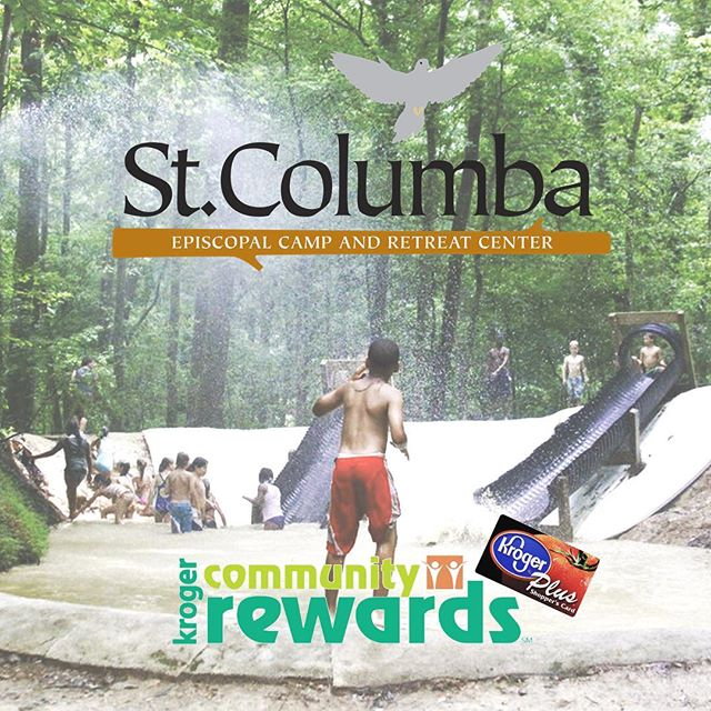 Did you know you can support St. Columba just by shopping!? Head over to Kroger.com and sign up for Kroger Community Rewards! Search for St. Columba or search for our organization number #HY188 #krogercommunityrewards #mudcamp #st.columba