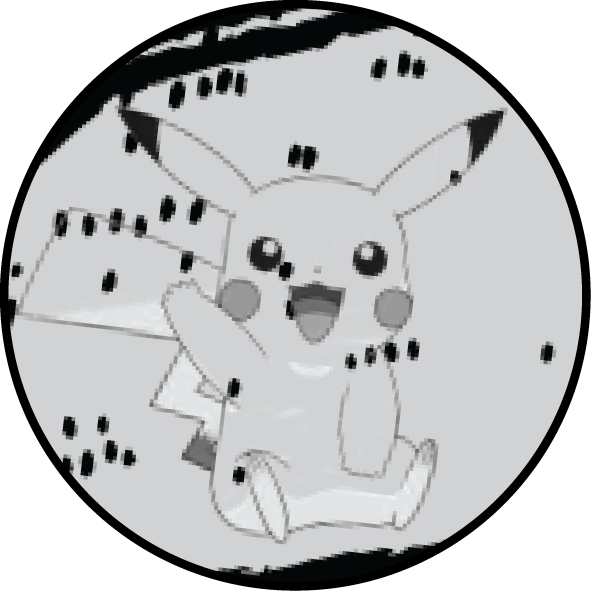 Gotta catch 'em all!  Pikachu , the playgrounds highly prized Pokemon.
