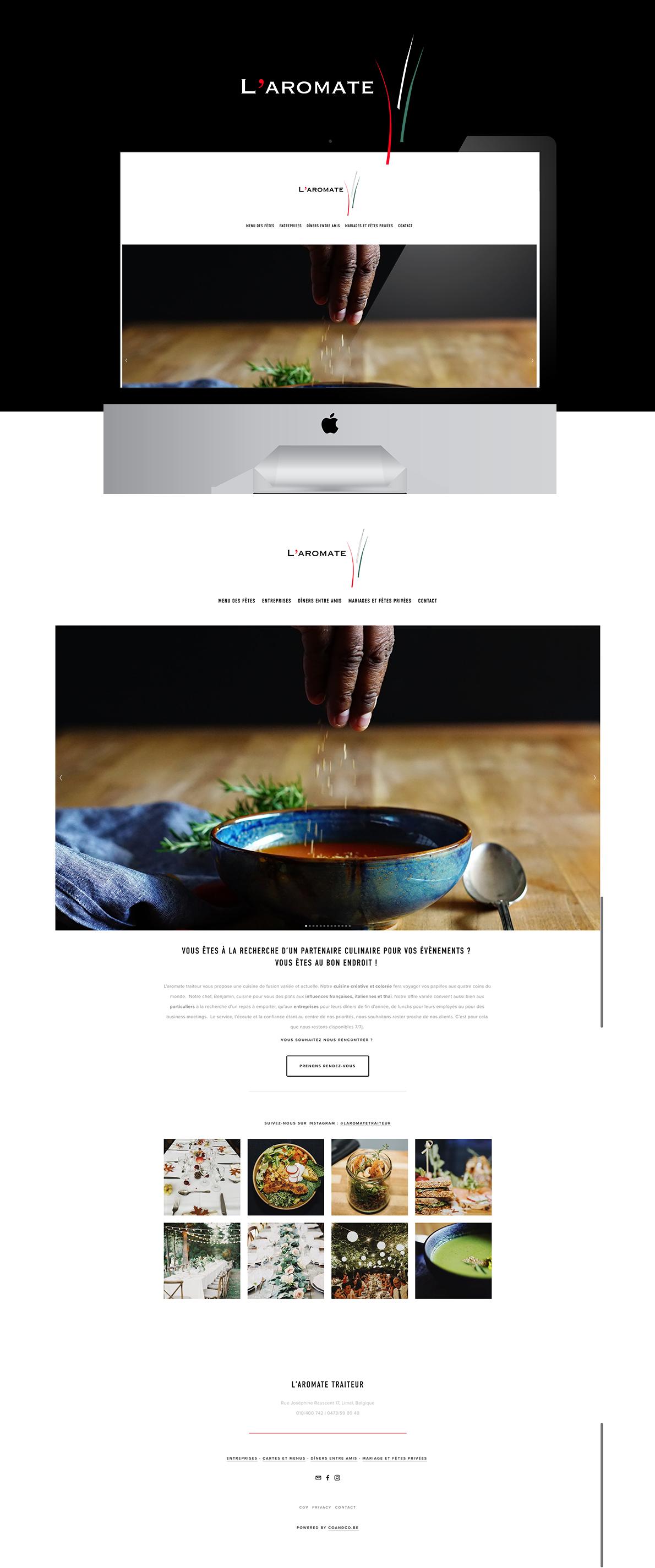 Création de sites web à Wavre