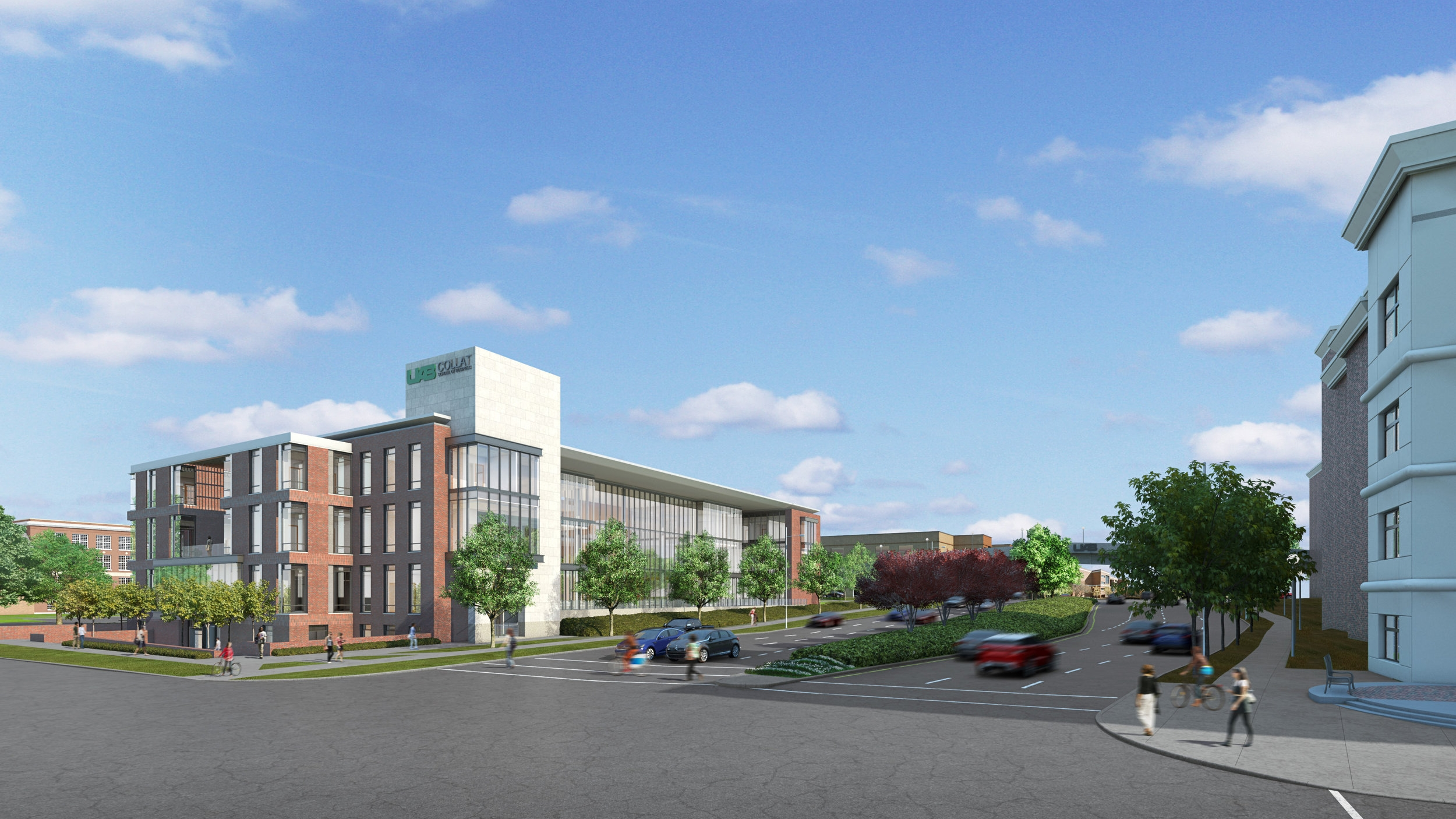 UAB Collat School of Business rendering