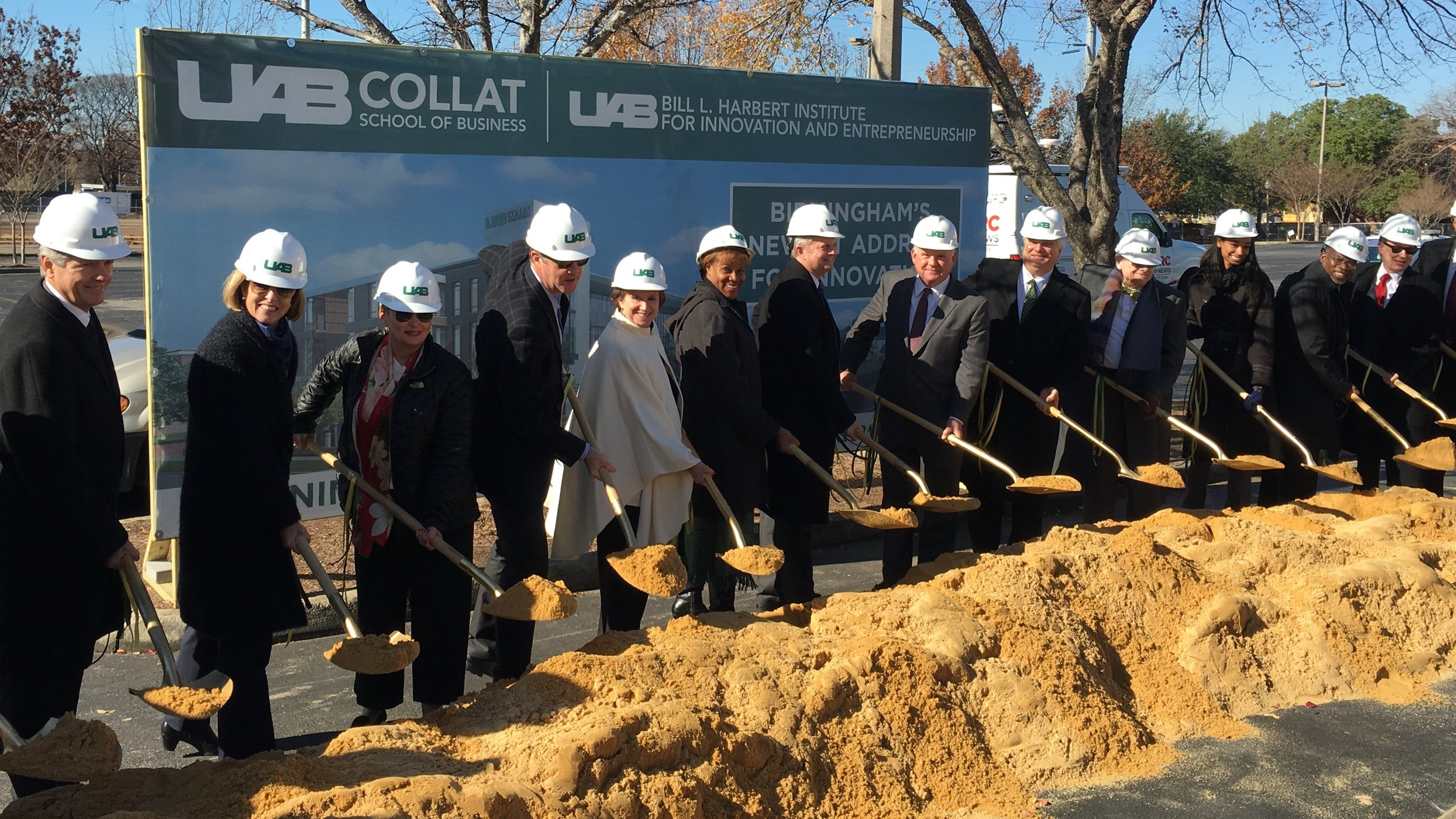 UAB Collat School of Business Ground Breaking