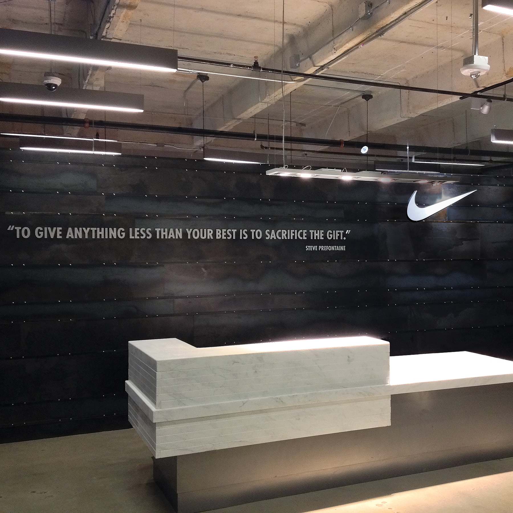 Nike Showroom- Williams Blackstock Architects