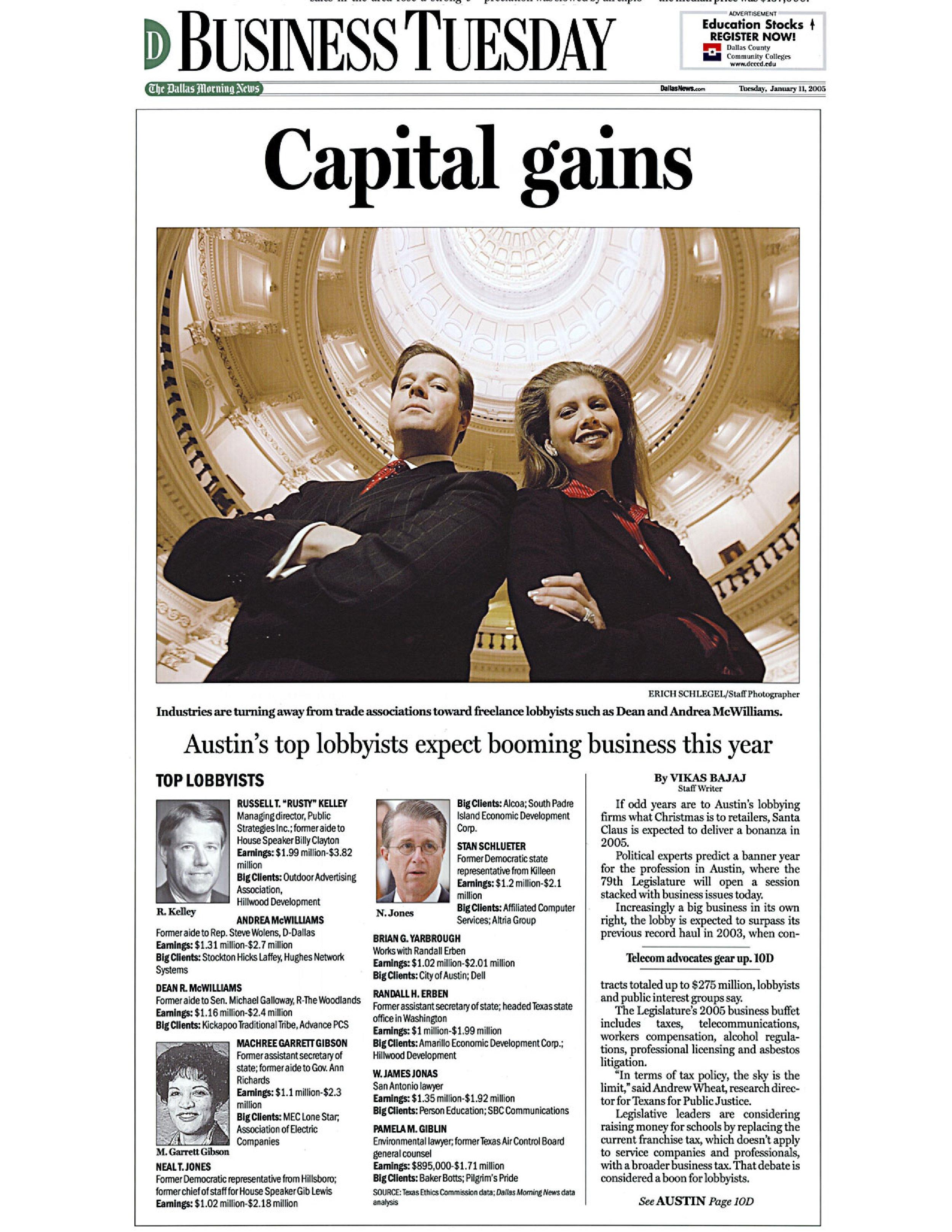 Capital Gains - Dallas Morning News