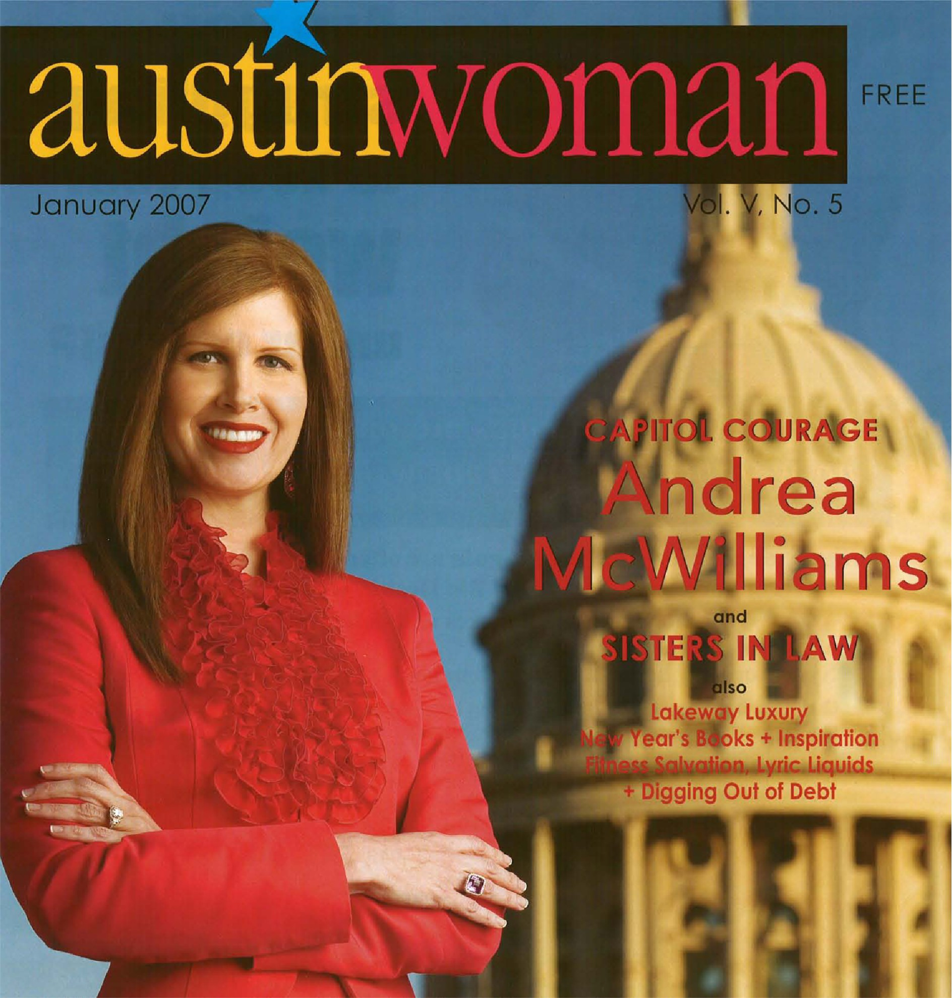 Capitol Courage- Austin Woman