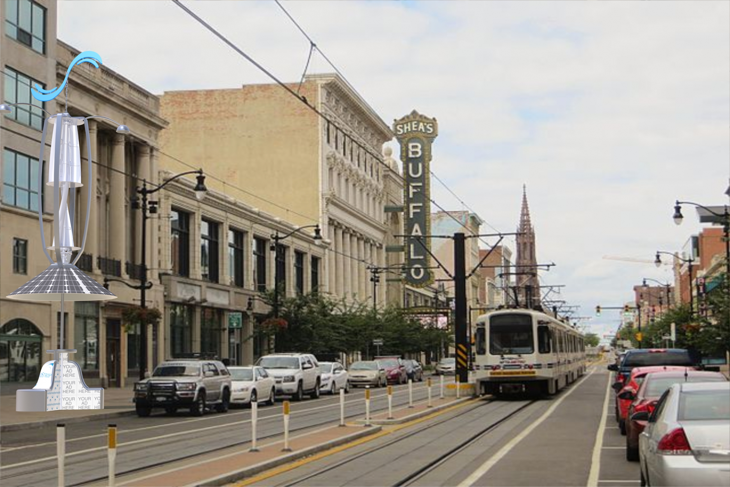 Buffalo Theatre and Downtown.JPG