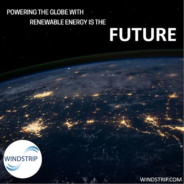Renewable energy is the future and Windstrip is on the cutting edge of this global initiative! Find out more on our website, link in bio.