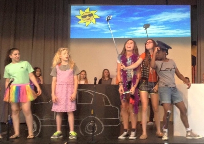 The student-led variety show