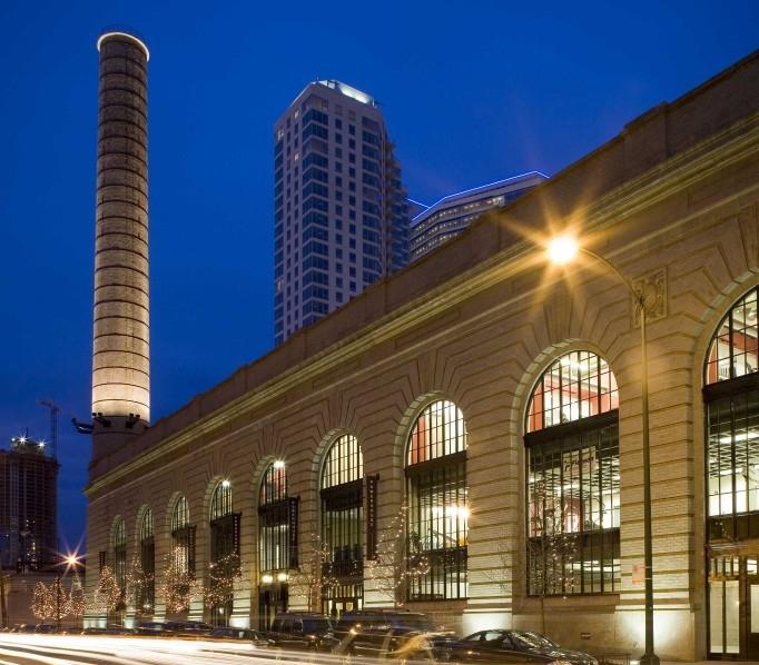 CHICAGO & NORTHWESTERN RAILROAD POWERHOUSE