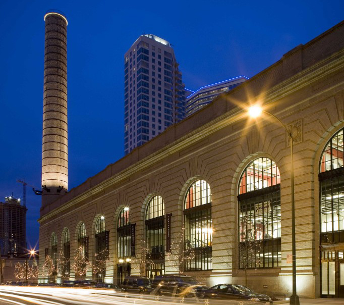 CHICAGO & NORTHWESTERN RAILROAD POWERHOUSE - mixed use