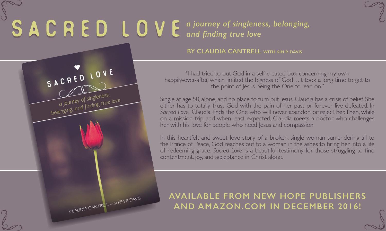 Sacred Love  Book Ad