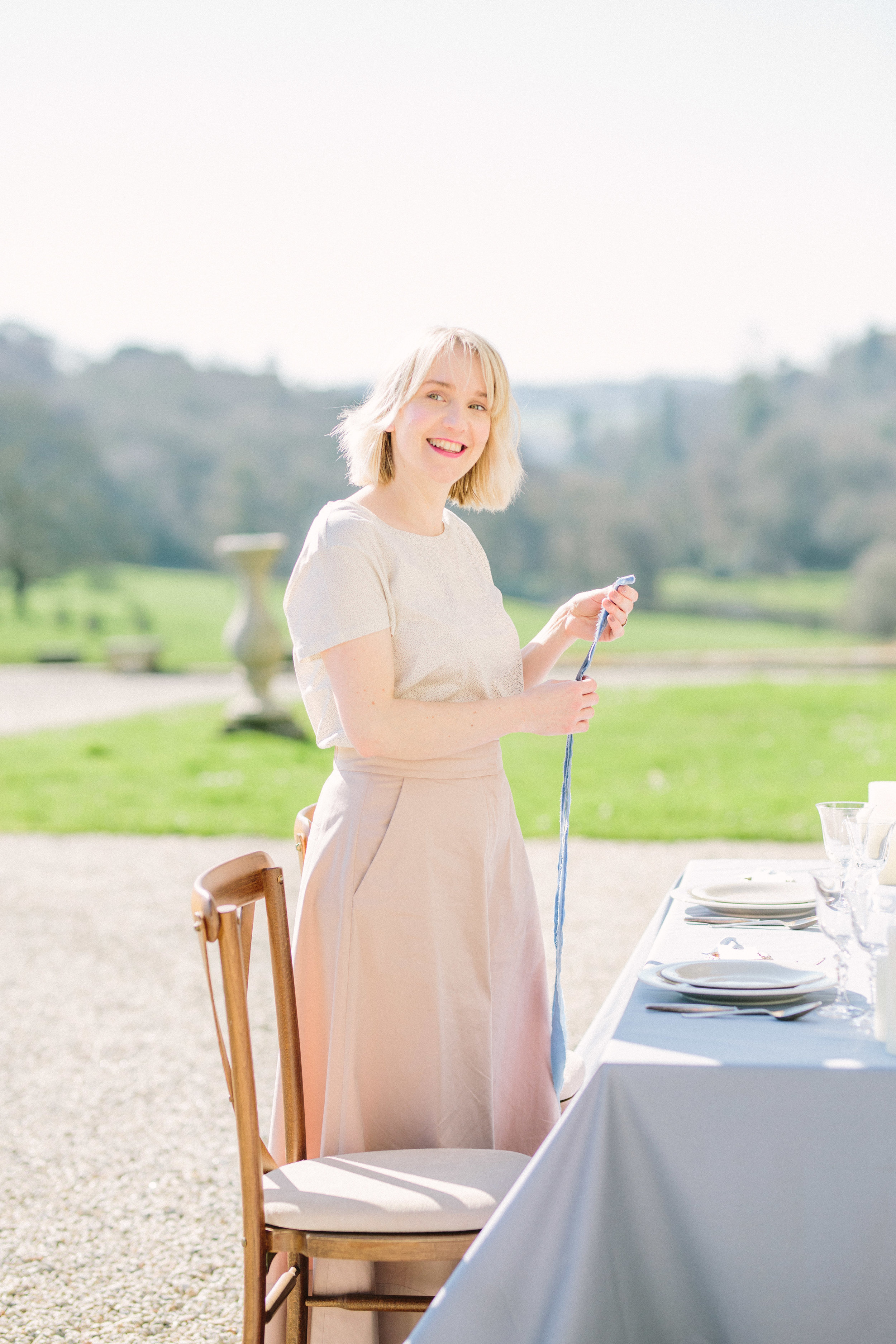 The Timeless Stylist-Wedding and Event Production and Planning-Garden Wedding Table Decor