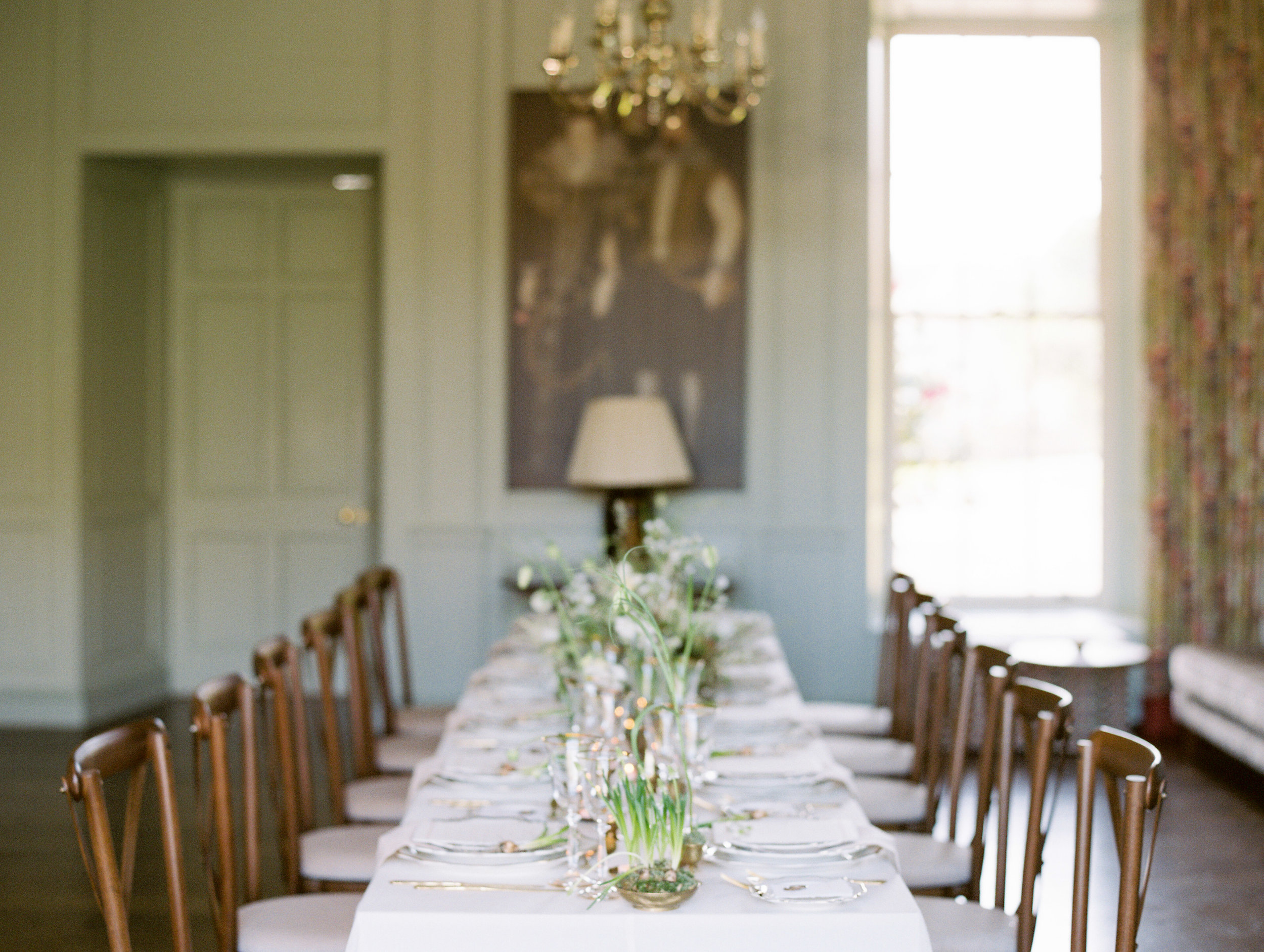 The Timeless Stylist-Elegant and Timeless Wedding Design and Styling-Spring Table Decor-Vintage Brass
