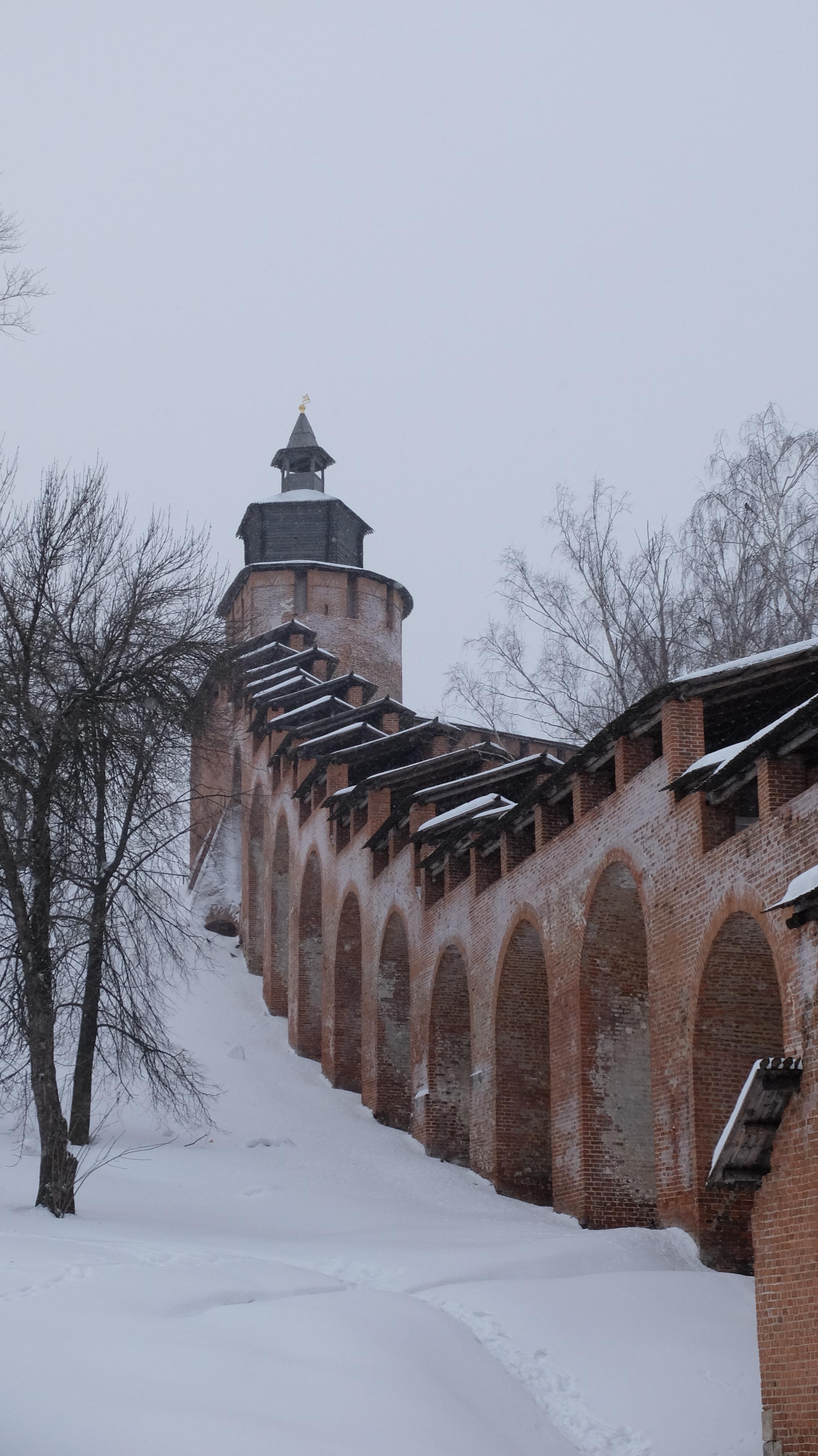 The Nizhny Kremlin.
