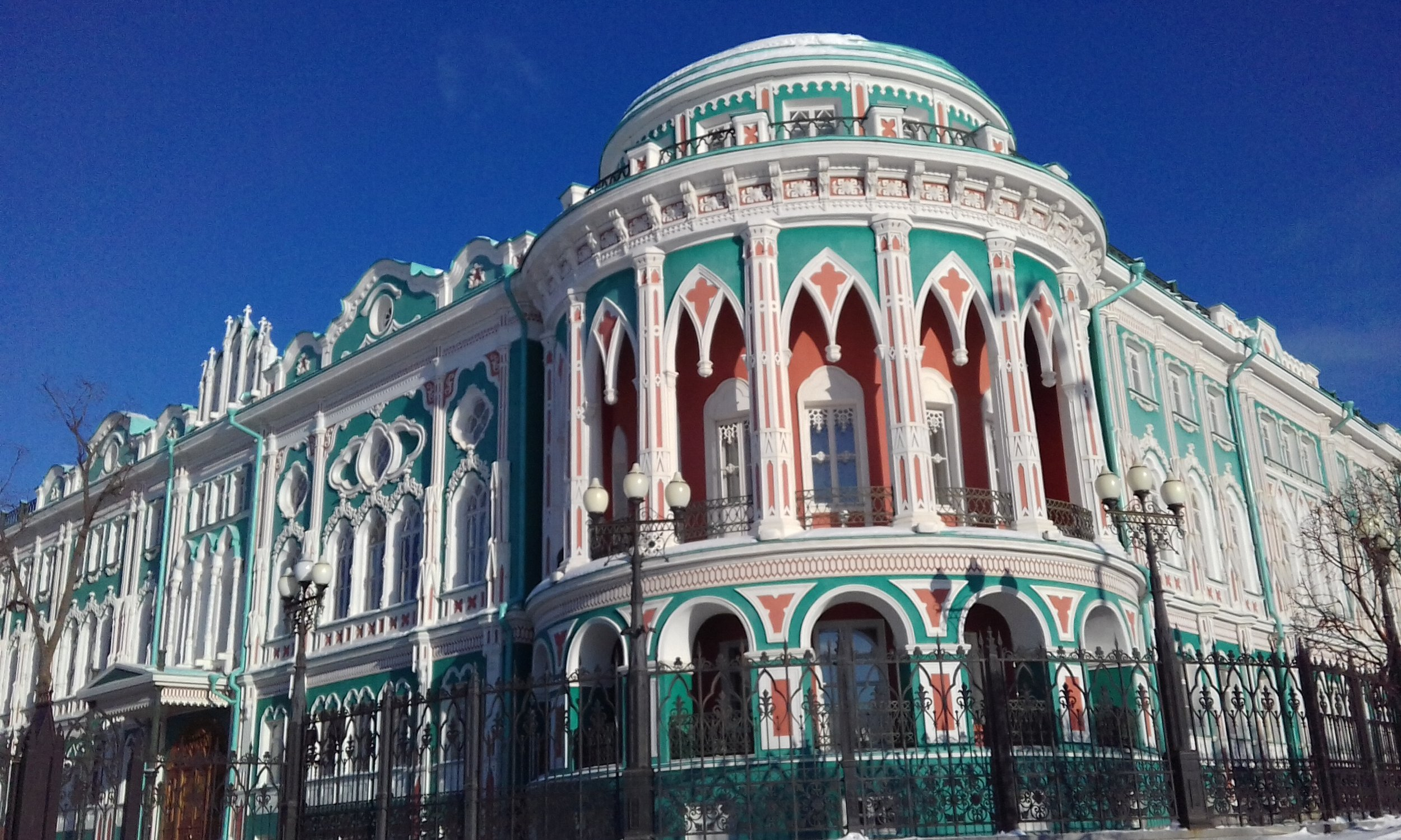 Distinctive architecture is one definitively Russian characteristic, but distance is the feeling that will always be singularly Russian to me.