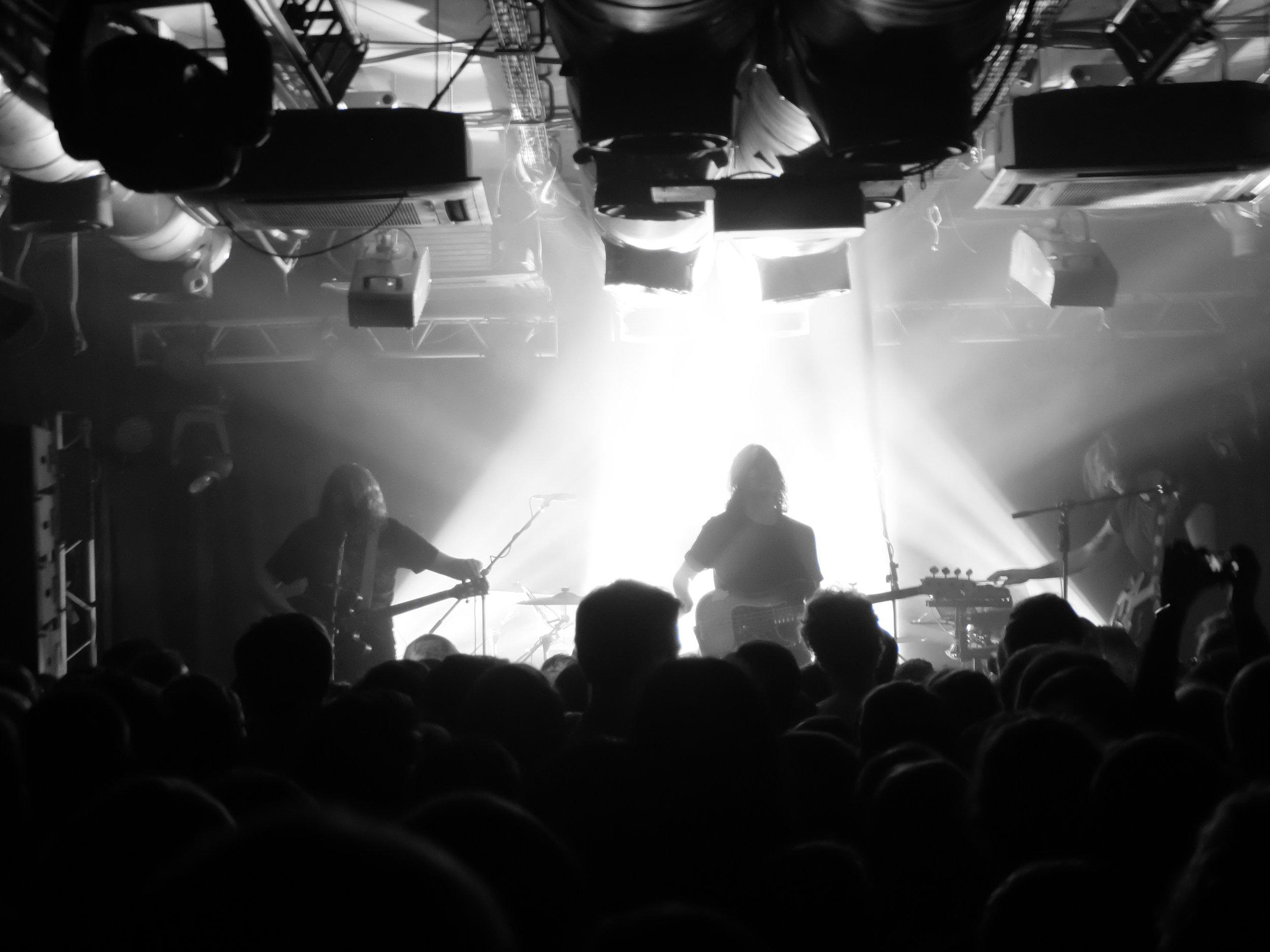 Irish instrumental rock band God is an Astronaut, live in Novosibirsk.
