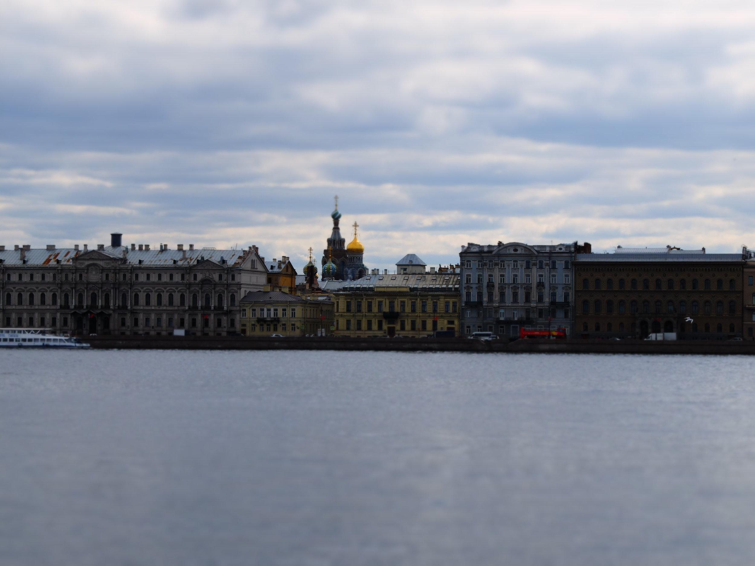 The Saint Petersburg Riverfront.