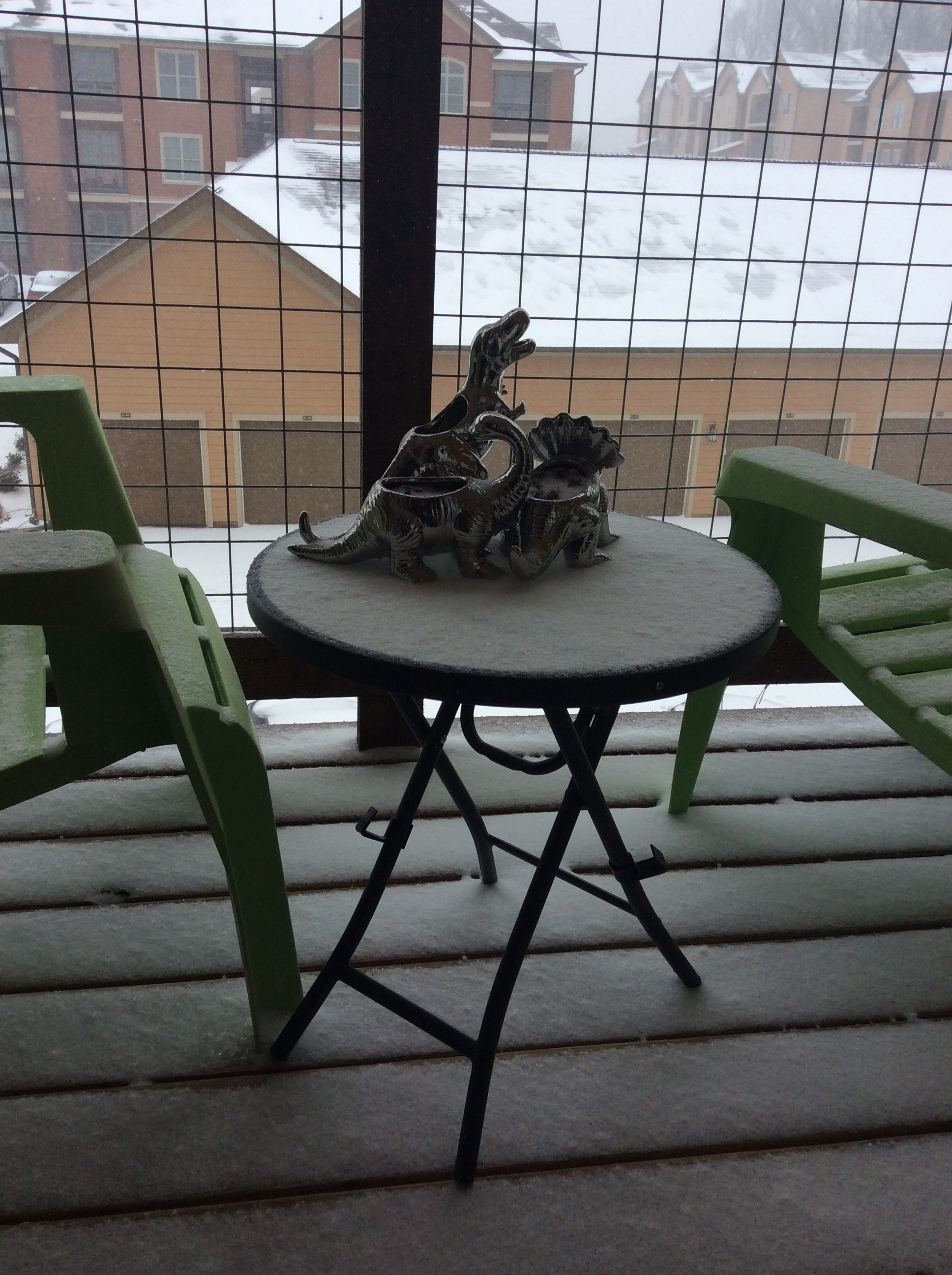 Snow: Jan. 18, 2018, Owensboro, Kentucky, United States