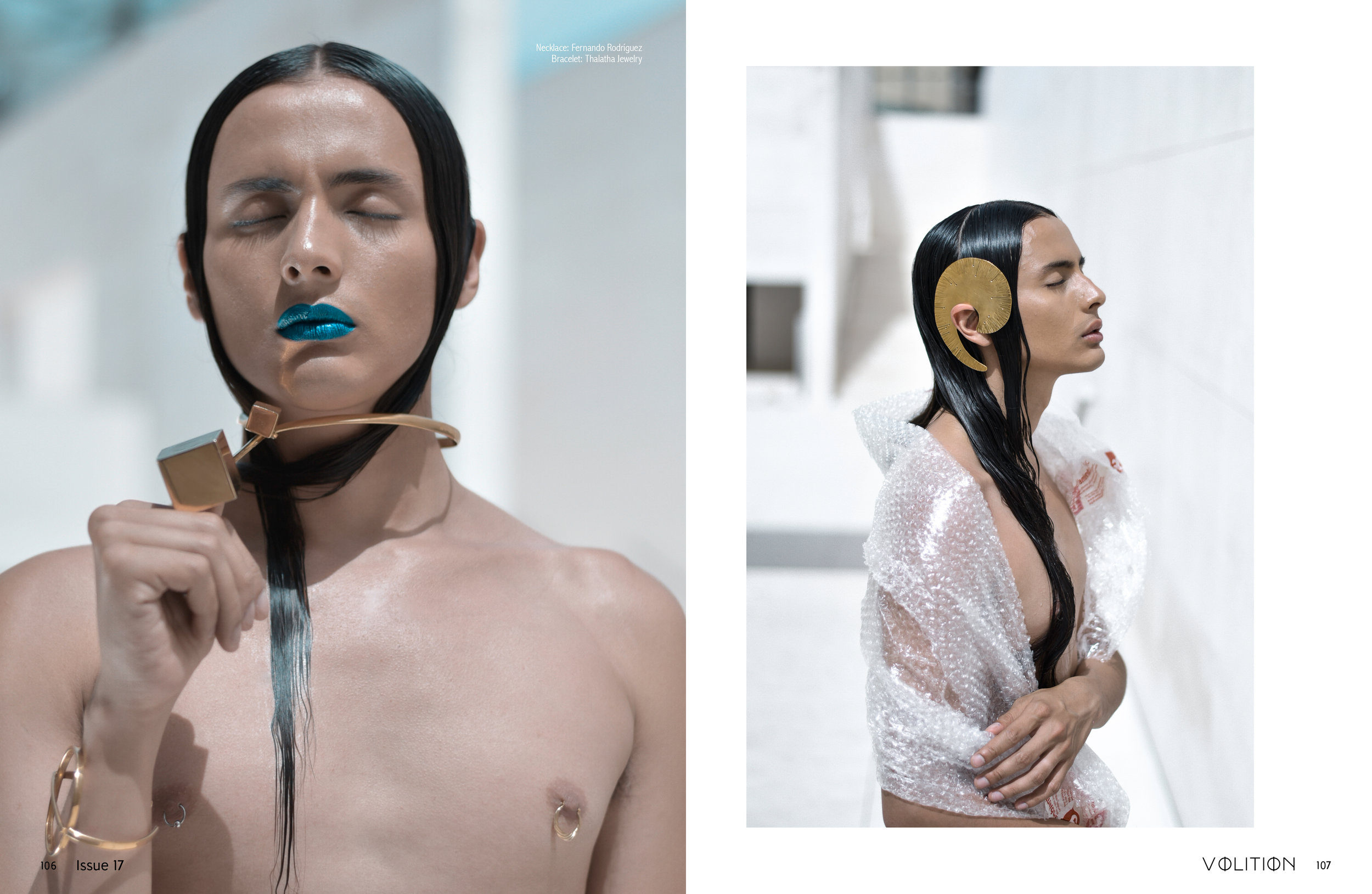 Plastic Lab in VOLITION Mag - BODY POSITIVITY edition.