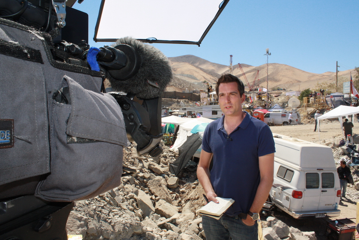 Jonathan Samuels reporting from Chile on the missing miners