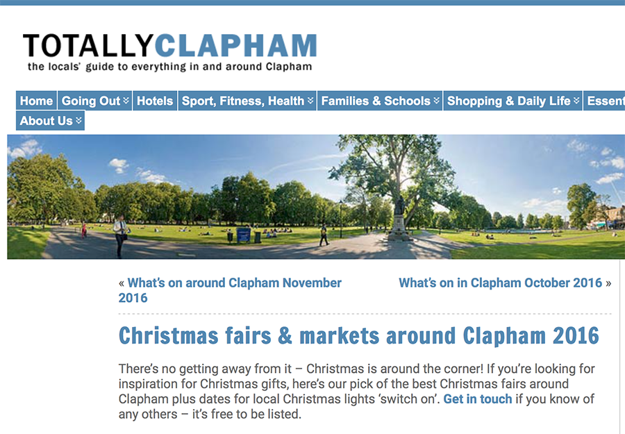 Totally Clapham