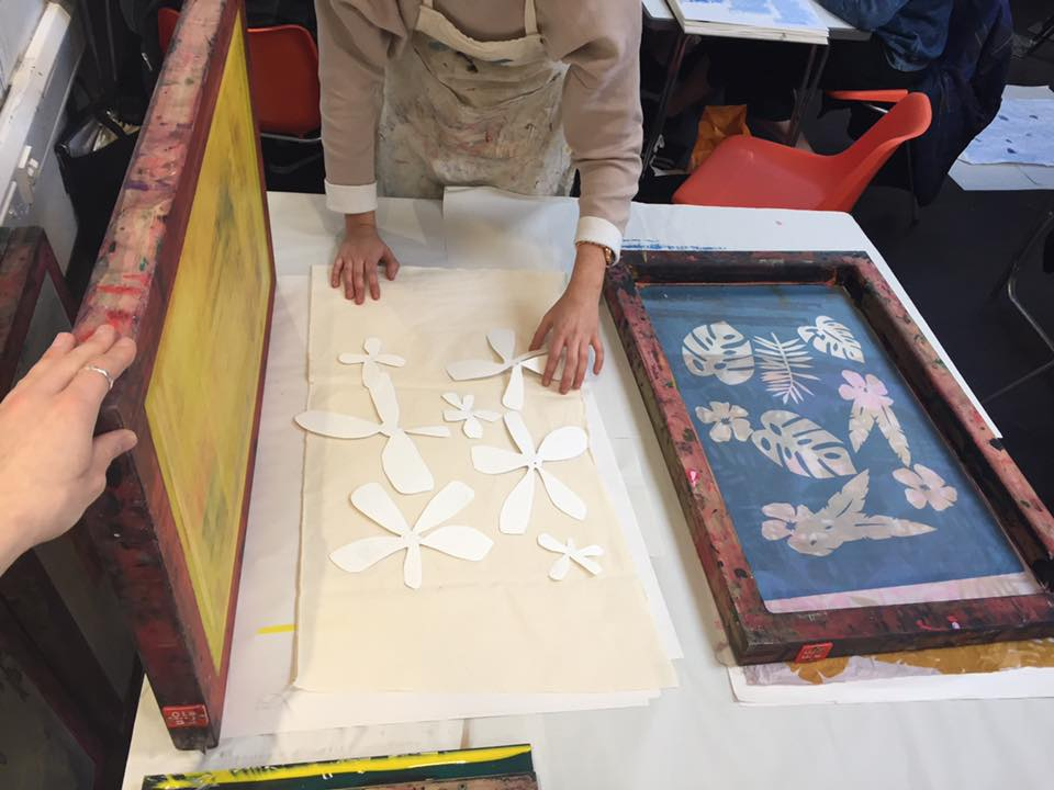 Screen-Printing Workshop with Nicole Line