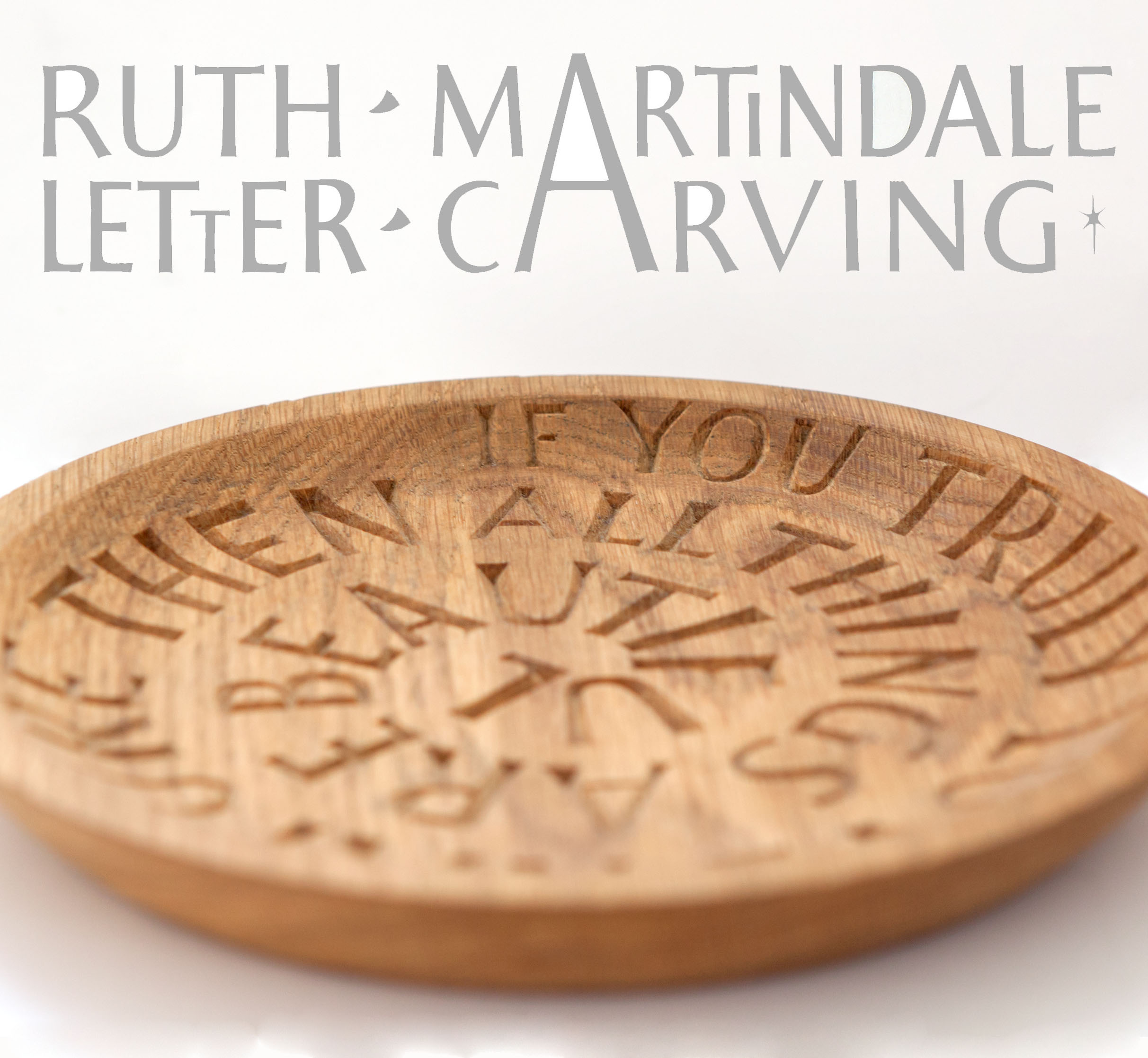 Ruth Letter Carving