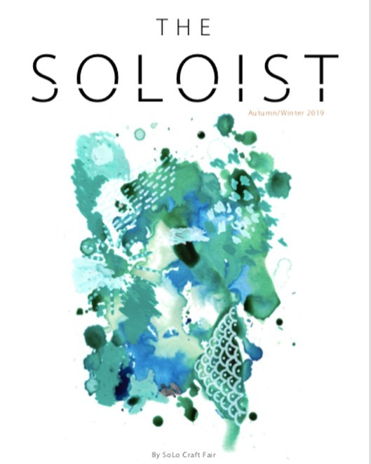 And the Autumn/ Winter edition of @thesoloistmagazine is here!  This issue includes all the best of South London independent businesses, so if a company interests you, make sure you take time to follow them up and support local this Christmas!  The hard copies will be in circulation across South London soon, but for now you can read the online version here; http://www.solocraftfair.com/the-soloist