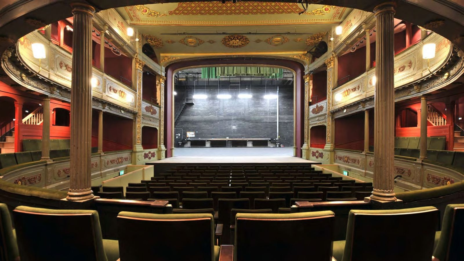 Bristol Old Vic auditorium – image courtesy Bristol Old Vic