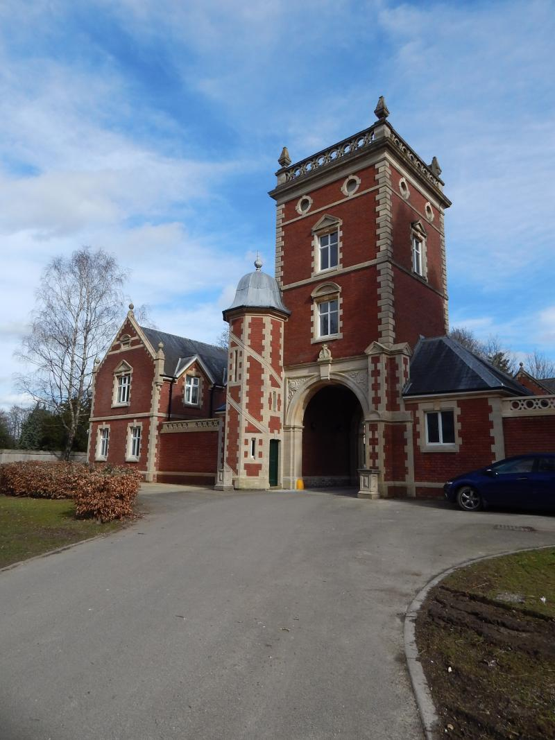Restored tower at Worth Park - image courtesy Heritage Lottery Fund