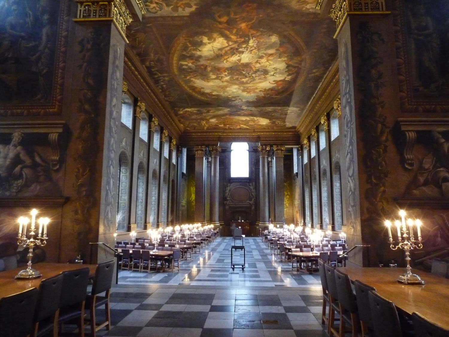 The Painted Hall interior – image courtesy of CareBear in Crazyland