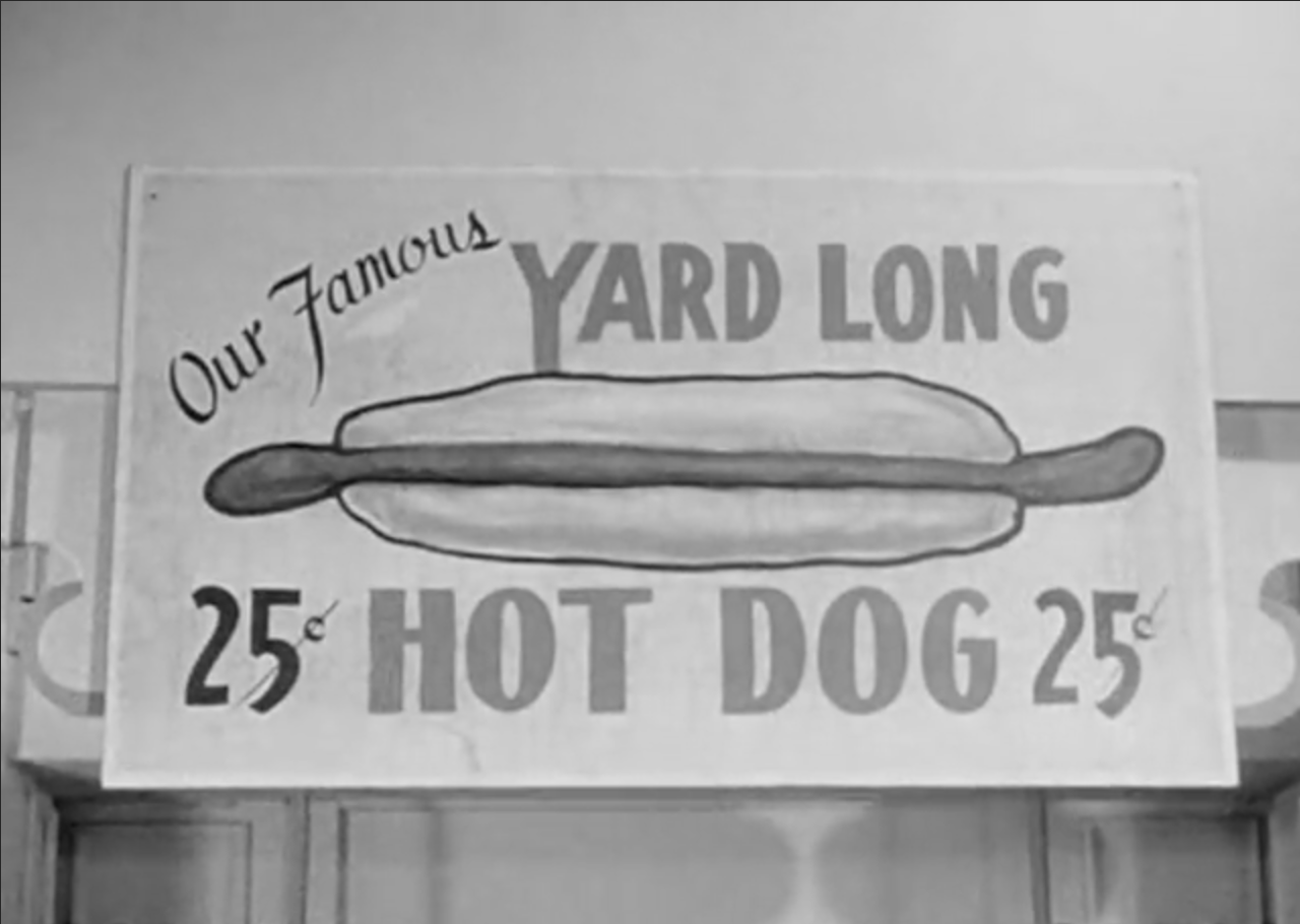What a crazy looking hot dog!
